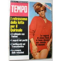 Revista Antiga Italiana Anos 70 Vintage Retrô James Bond