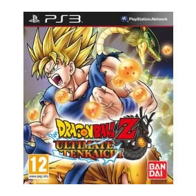 Jogo Dragon Ball Z Ultimate Tenkaichi Para Ps3 Playstation 3