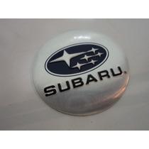 Emblema Subaru Para Rodas Esportivas 55 Mm