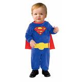 Disfraz Niño Bebé De Superman Superhéroe Dc Comics