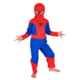 Disfraz De Spiderman (hombre Araña) Marvel Original New Toys