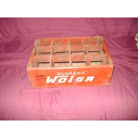 Caixa De Refrigerante Wolga , Antiga De Madeira