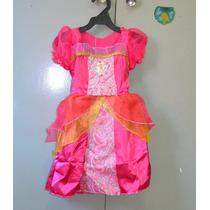 Fantasia Barbie Baby 1 Ano Infantil Boneca Princesa Castelo