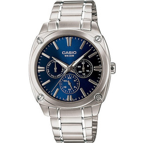 Relógio Casio Mtp-1309 Multifuncional Vistoso Lindo Charmoso