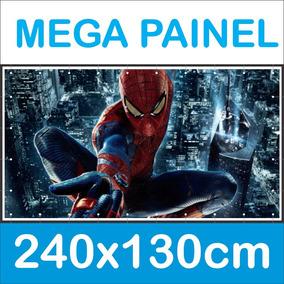 Mega Painel Decoração Festa Infantil 2,40x1,30 M Big Banner