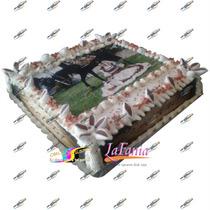Obleas Impresas Comestible Doble Carta 30x42 Cm Pasteles