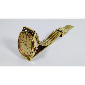 Reloj Omega De Ville Caja Y Pulso Chapa De Oro (inv 1649)