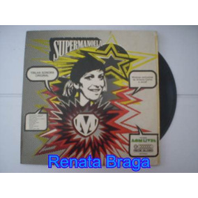Lp Trilha Sonora Da Novela Supermanoela Nacional