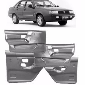 Kit 4 Forros Porta Santana 4p 1991/1997 Cinza Porta Treco