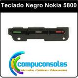 Teclado Negro Nokia 5800