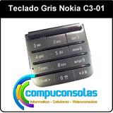 Teclado Nokia C3 01 Gris