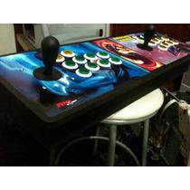 Joystick Manete Arcade Fliperama Duplo Para Ps3 , Pc E Ps2