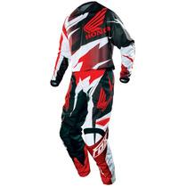 Equipo Conjunto Fox Honda Motocross Original Freeway Motos!!