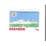 Lindo Selo De Grenada - Navio - Vejam A Foto !!!