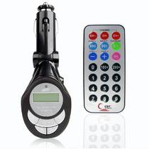 Transmissor Via Fm Sem Fio Wireless Acompanha Fonte Veicular