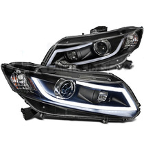 Farol Projector Barra Led Honda Civic 12/16 Black + Xenon