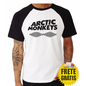 Camisa Artic Monkeys Camisetas Banda De Rock Rock In Rio