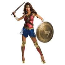 Disfraz De Lujo Mujer Maravilla Liga Justicia Wonder Woman