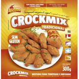 Crockmix - Farinha P/ Empanar: Peixe, Frango, Legumes.