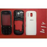 Carcaça Painel Aro S/ Touch Nokia Asha 202 Branco