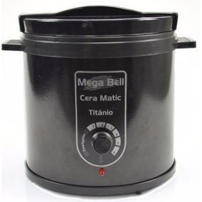 Mega Bell Termocera Panela Para Depilação Corpo Metálico 1kg