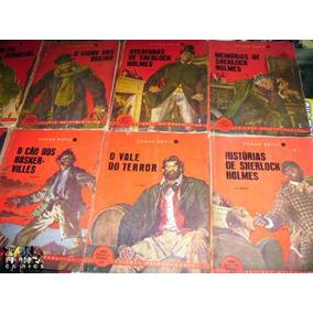 Sherlock Holmes Um Estudo Em Vermelho - Nº 01 Melhoramentos