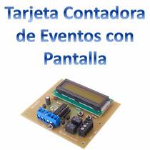 Tarjeta Contadora De Eventos Con Pantalla Rcnt2