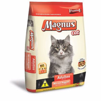 Ração Adimax Pet Magnus Cat Mix Com Nuggets Para Gatos 25kg