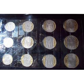Serie De 100,200,300 E 400 Reis Completa De Pers. Ilustres