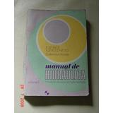 * Livro Sobre Hidráulica - Tabelas E Fórmulas *
