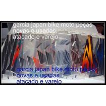 Jogo Adesivo Cb500 Completo Ano 1998-2002 Garcia Japan Bike