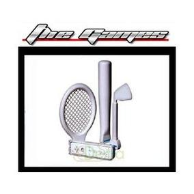 Kit Wii Esporte 3-1 (baseball-tênis-golf)