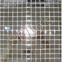 Pastilha De Vidro Cristal Espelhada Prata Últimas Peças