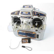 Radio 6 Canais - Mode 2 - Hobbyking Hk6s 2.4ghz Fhss Tx + Rx