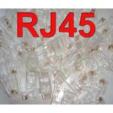 100 Conectores Rj45 Cat 5e
