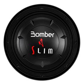 Subwoofer Bomber Slim 10 Polegadas 200w Rms Bobina 4 Ohms