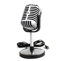 Microfono Retro Para Pc