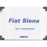 Manual Proprietário Fiat Siena 2000 C/ Suplementos E Bolsin