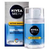Nivea Men Q10 Active Energy Gel Facial Revitalizante X 50ml