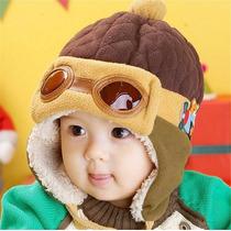 Gorro Aviador Infantil - Touca Aviador Infantil Inverno