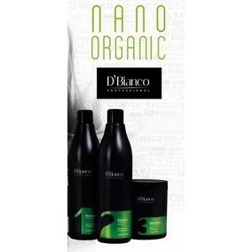 Promocao Kit Escova Organica Nano Organic 1lt Dom Bianco