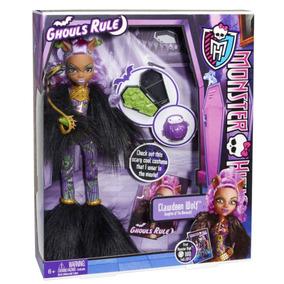 Boneca Mattel Monster High Clawdeen Wolf Ghouls Rule