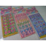Letras Sortidos Alfabeto Kit C/30 Cartelas Adesivo Stickers