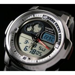 Relogio Casio Aqf-102 Termometro 100% Novo E Original