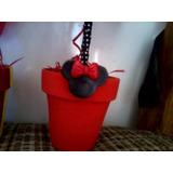 Moldes De Caucho Flexibles!!!!!silueta De Mickey Y Minnie