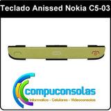 Teclado Botones Llamala Menu Nokia C5 03