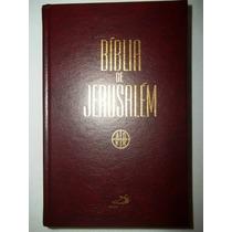 Bíblia De Jerusalém - Capa Dura - Editora Paulus Sagrada