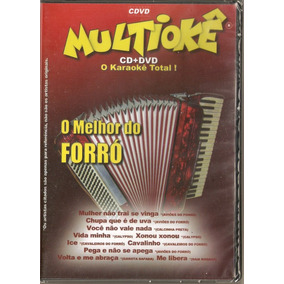 Dvd Multiokê - O Melhor Do Forró - Novo***