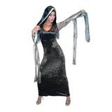 Disfraz Disfraces Adultas Damas Halloween Morticia
