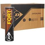 Tubo De Pelotas Dunlop Fort X 4 Balls - Oferta Caja X 18 Un.